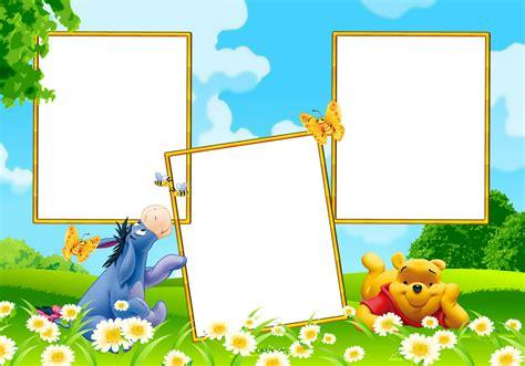 imagenes infantiles de winnie pooh marcos para photoshop y algo mas winnie pooh marcos de