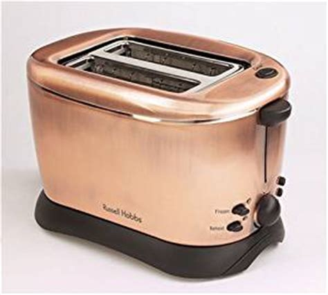 Colored Toaster Russell Hobbs Copper 2 Slice Toaster 10788 Amazon Co Uk