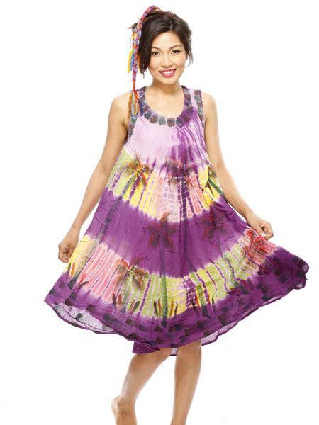 Dress Batik Handmade funky batik dress hippie dress himalayan handmades
