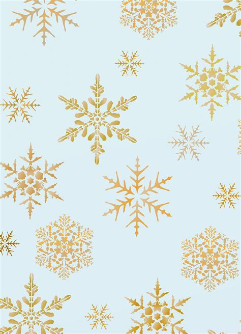 small snowflakes stencil henny donovan motif