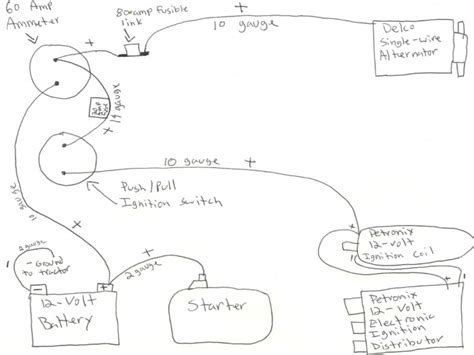 farmall 6 volt tractor wiring diagram wiring diagram