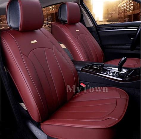 Toyota Hilux Leather Seat Covers Black Leather Car Seat Covers Waterproof Toyota Camry