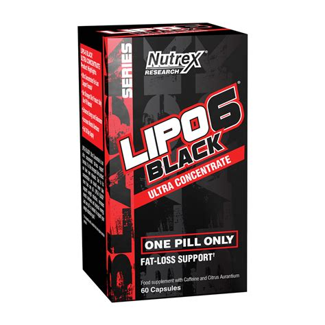 Dijamin Nutrex Lipo 6 Rx lipo 6 black ultra concentrate 60 caps queimadores de
