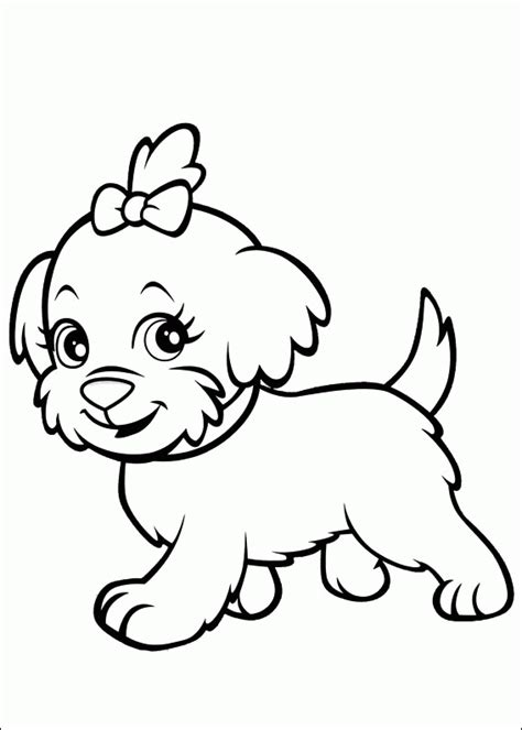 printable coloring pages pets polly pocket pet coloring pages for preschoolers