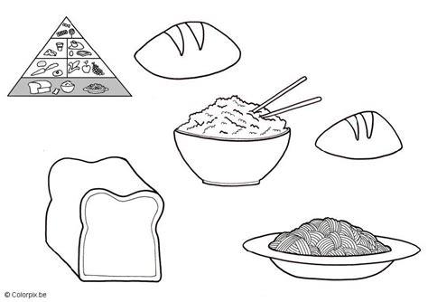 disegni alimenti per bambini cibi da colorare per bambini