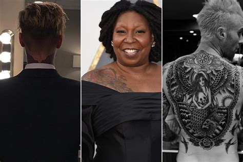actors with tattoos the tattoos you didn t existed