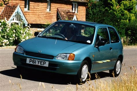 toyota uk toyota starlet 1996 car review honest john