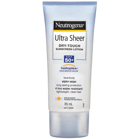 Neutrogena Ultra Sheer Touch Sunscreen Lotion Spf 50 85ml Neutrogena Ultra Sheer Touch Sunscreen Lotion Spf 50 85ml