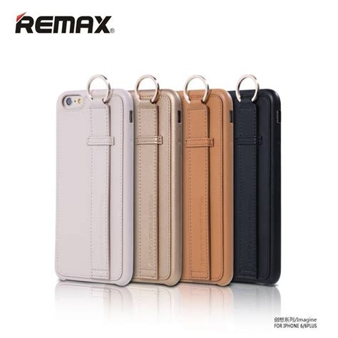 Remax Leather Bumper remax 174 apple iphone 6 6s vision series metallic holder