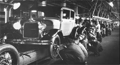 The Assembly Line Henry Ford Essay by Henry Ford Assembly Lines And The Model T History 12