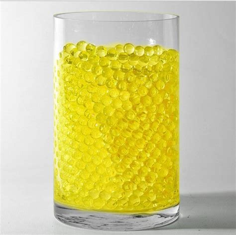 Yellow Vase Fillers by Yellow Small Deco Water Jelly Vase Filler