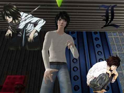 sims 4 death note cc mod the sims l from death note