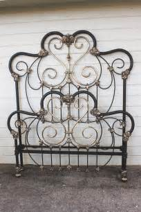 Iron Bed Frames Antique Iron Bed 7 Cathouse Beds