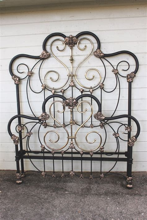 antique wrought iron beds vintage iron headboards best naked ladies