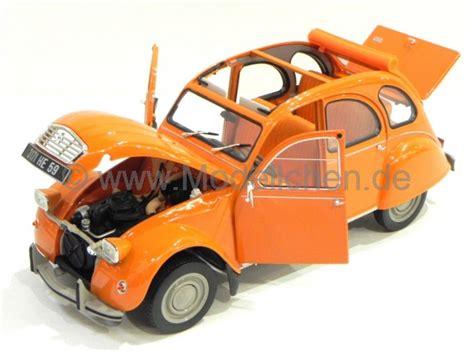 Ente Automarke by Citroen 2cv 6 Ente Orange 1975 Modellauto 181514 Norev 1 18