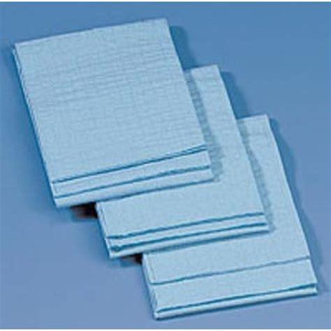 medical drape busse hospital disposables kaycel 174 towel blue non sterile