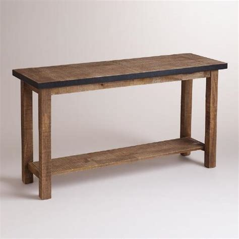 world market sofa table clayton console table world market