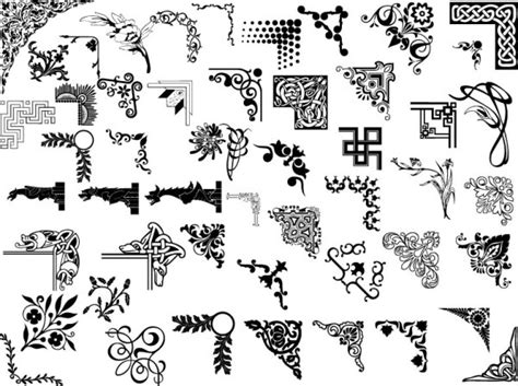 old pattern ai 50 paragraph ai format pattern vector vectors download