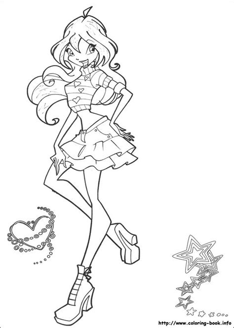 coloring pages for winx club colouring pages the winx club fan 23364882 fanpop