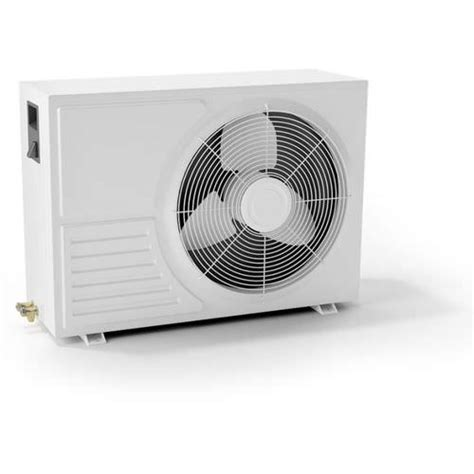 fan on air conditioner 3d fan air conditioner cooler cgtrader