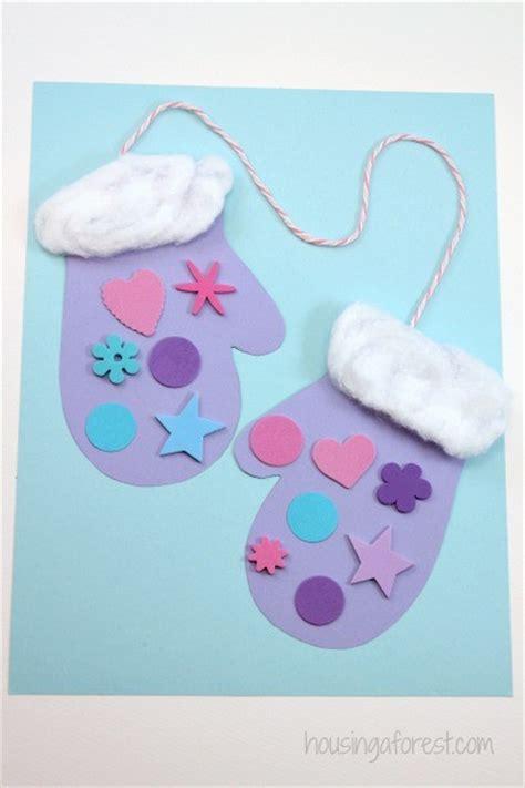 Winter Mitten Craft For Preschoolers Housing A Forest