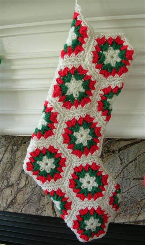 pattern for a crochet christmas stocking best photos of crochet christmas stocking free crochet