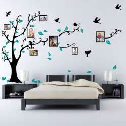 Picture Wall Stickers Family Tree Bird Photo Frame Nursery Wall Quotes Wall