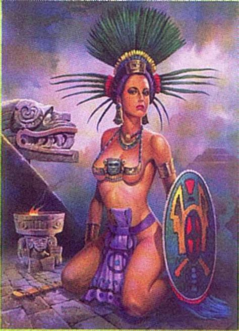 imagenes aztecas de mujeres el chaman