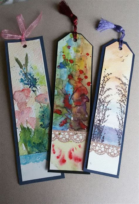 Handmade Bookmarks Ideas - best 25 handmade bookmarks ideas on diy