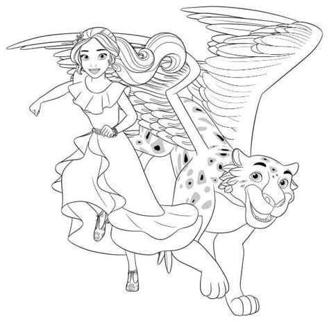 coloring pages princess elena 40 printable elena of avalor coloring pages