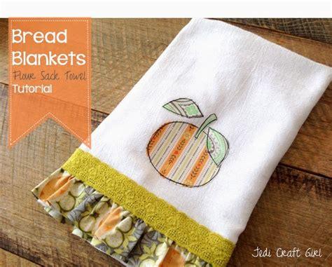 flour crafts for bread blankets flour sack towel tutorial