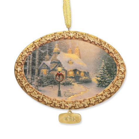 kinkade ornaments kinkade stonehearth hutch ornament at treasures