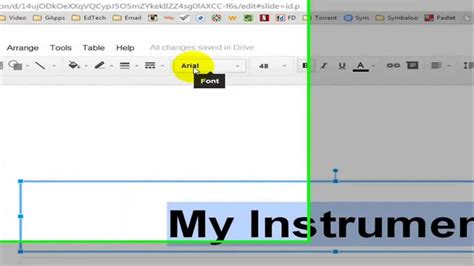 how to change font color in docs presentations changing the font size of font and