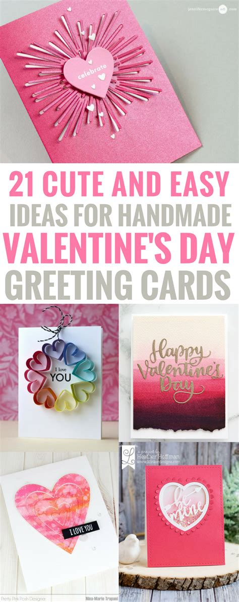 cute homemade valentine ideas 21 amazingly cute and easy ideas for handmade valentine s