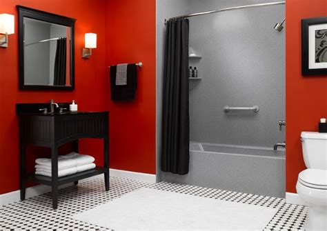 red wall bathroom best 25 red bathrooms ideas on pinterest paint ideas