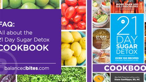 21 Day Detox Diet Recipes by 21 Day Sugar Detox Diet Recipes Creationstoday