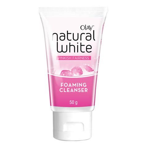 Olay White Foaming Cleanser olay white pinkish fairness foaming cleanser 50g