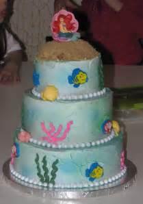 j s cakes little mermaid cake