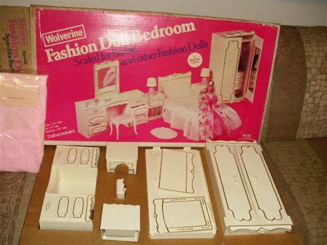 barbie bedroom furniture vintage unused wolverine barbie bedroom furniture boxed