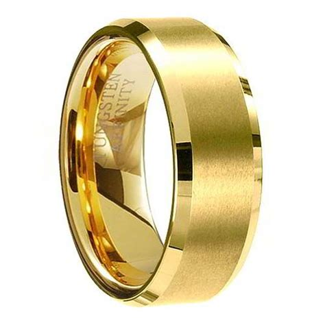 Design Of Wedding Ring In Gold by Goes Wedding 187 Coolest Black And Gold Tungsten Wedding