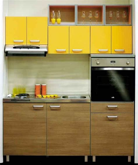 innovative contemporary kitchen design for small space