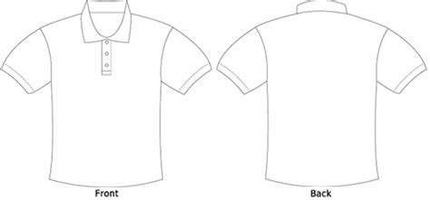 polo design template polo t shirt template clipart best