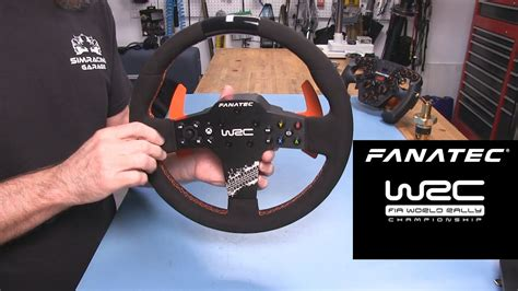 fanatec csl wrc rally wheel review sim racing garage