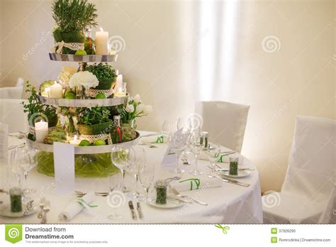 beautiful tables beautiful table set for green wedding or event party