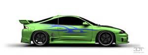 Mitsubishi Eclipse V8 3dtuning Of Mitsubishi Eclipse Gsx Coupe 1995 3dtuning
