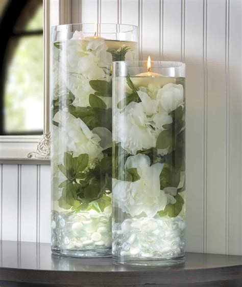 glowing floral diy wedding centerpieces diy