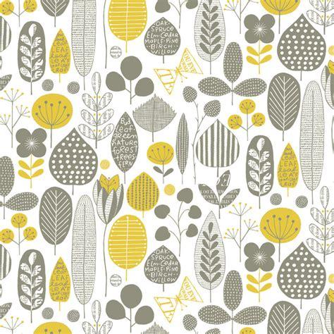mid century wallpaper meadow midcentury wallpaper by loboloup