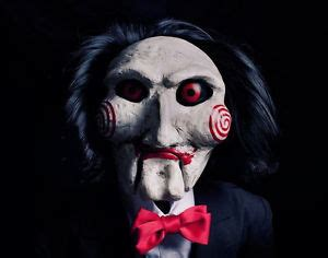 jigsaw film company life size autographed billy quot jigsaw quot puppet from saw