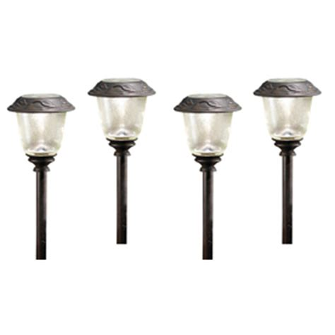 Shop Allen Roth Led Path Light Kit At Lowes Com Allen Roth Landscape Lighting
