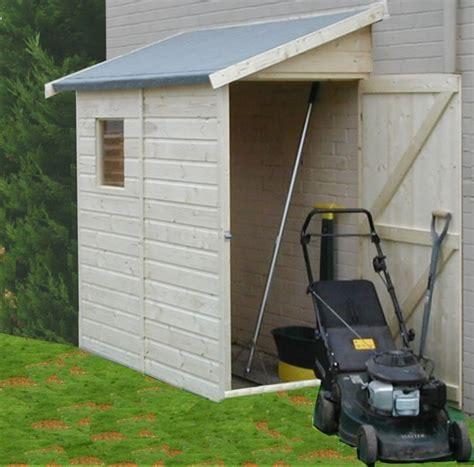 lean to modular shed 3 x6